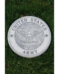 """10"""" Round Stone-Army"""
