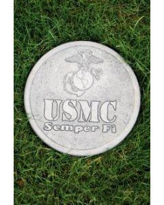 """10"""" Round Stone-US Marine"""