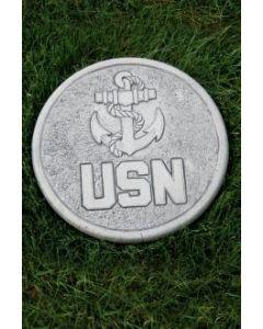 "10"" Round Stone-US Navy"