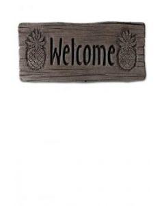 "11"" Stone-Welcome Pineapple"