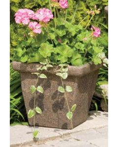"14"" Square Cottage Planter"
