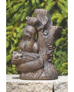 "15"" Squirrel on Stump"