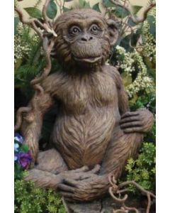"""18"""" Sitting Monkey"""