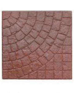"Cobble Red Range 20"" x 20"""