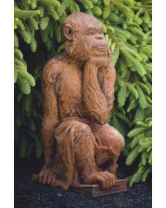 """27"""" Thinking Monkey"""