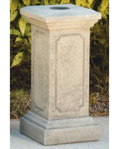"28"" Square Paneled Pedestal"