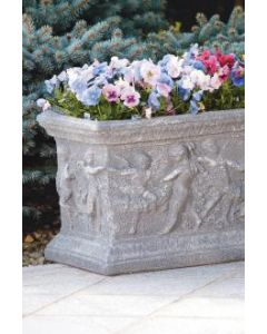 "48"" Salvatore Cherub Box Planter"