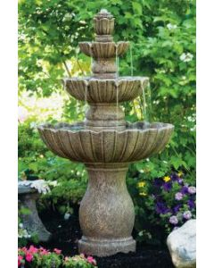 "54"" Mirabella Scallop Fountain"