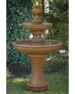 "62"" Opal Two Tier Fountain"