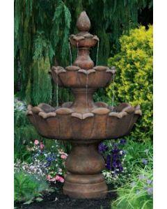 """80"""" 3 Tier Petal Leaf Fountain"""