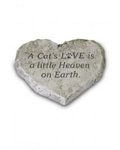 Heart Stone - A Cat Love Is