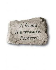 "10"" Stone-A Friend is Trea"