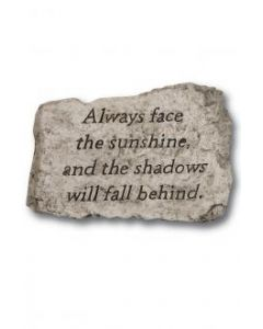 """10"""" Stone-Always Face The"""