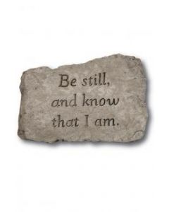 """10"""" Stone-Be Still And Know"""