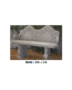 Bench with Back & Arm Rests