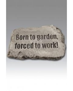 "10"" Stone-Born to Garden"