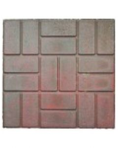 "Brick Red Range 20"" x 20"""