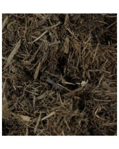 Brown Wood Mulch Bag