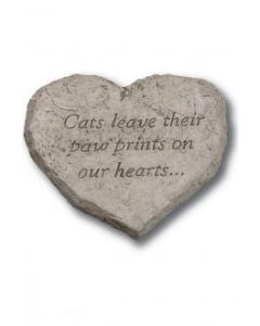 Heart Stone-Cat Leave Their