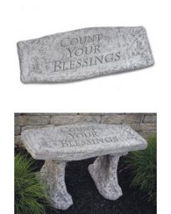 Bench- Count Your Blessings