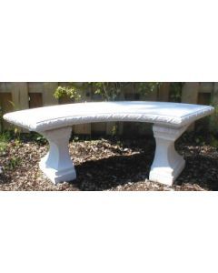 Curved Flower Bench