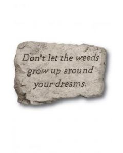 """10"""" Stone-Don't Let The Weed"""