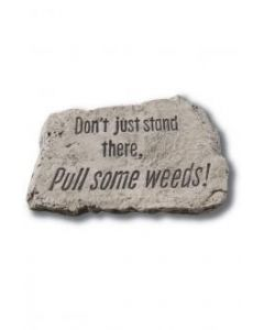"""10"""" Stone-Don't Just Stand T"""