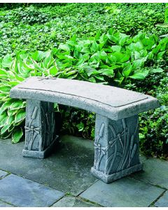Dragonfly Curved Bench