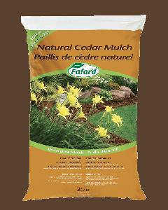 Natural Cedar Mulch 2 cu.ft.