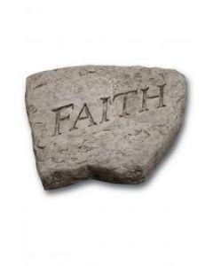 """8"""" Stone-Faith"""