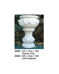 Fancy Rose Pot