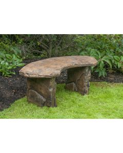 Fossil Bench - Curved