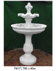 Fountain - 2 Tiered 78""