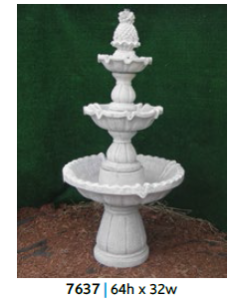 Fountain - 3 Tiered 64""