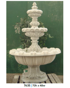 Fountain - 3 Tiered 70""