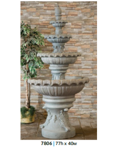 Fountain - 4 Tiered 77""