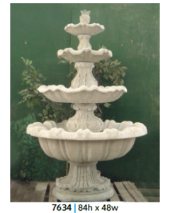 Fountain - 4 Tiered 84""