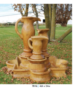 Three Jug Fountain & Basin