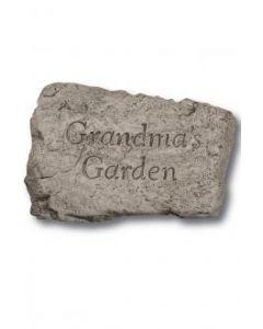 "10"" Stone-Grandma's Garden"