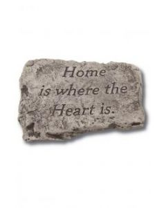 """10"""" Stone-Home is Where the"""