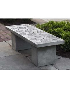 Hydrangea Leaf Bench