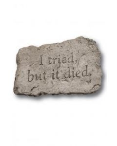"""10"""" Stone- I Tired But It Died"""