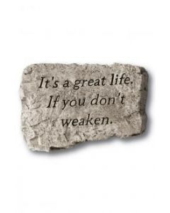 """10"""" Stone-It's A Great Life"""