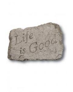 "10"" Stone-Life is Good"