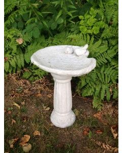 Live, Love, Laugh Birdbath