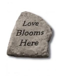 """8"""" Stone-Love Blooms Here"""
