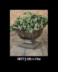 Low Leaf Urn