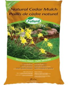Cedar Mulch Natural Bag 2CuFt
