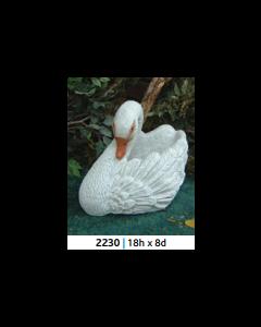 New Swan Planter
