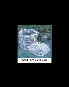 Old Boot Flower Pot